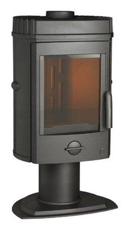 BINIKTA Piec wolnostojący Invicta 8kW Mesnil (górna średnica wylotu spalin: 150mm, kolor: antracyt) - spełnia anty-smogowy EkoProjekt 86854939