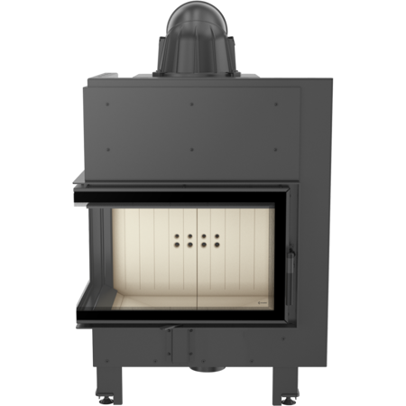 DOSTAWA GRATIS! 30046775 Wkład kominkowy 10kW MBM BS (lewa boczna szyba bez szprosa) - spełnia anty-smogowy EkoProjekt