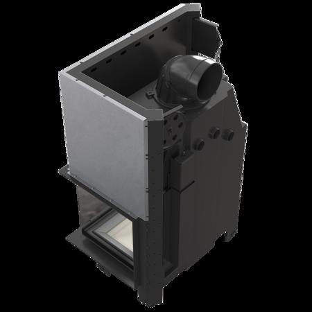 DOSTAWA GRATIS! 30053242 Wkład kominkowy 15kW MBO 15 BS Gilotyna (prawa boczna szyba bez szprosa, drzwi podnoszone) - spełnia anty-smogowy EkoProjekt