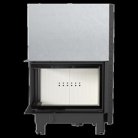 DOSTAWA GRATIS! 30055012 Wkład kominkowy 17kW MBA BS Gilotyna (lewa boczna szyba bez szprosa, drzwi podnoszone) - spełnia anty-smogowy EkoProjekt