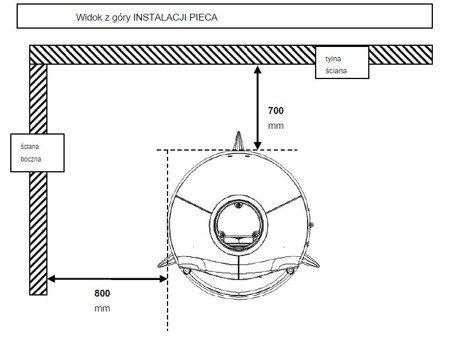 DOSTAWA GRATIS! 86829177 Piec wolnostojący Invicta 14kW Pow-Wow - spełnia anty-smogowy EkoProjekt