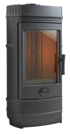 DOSTAWA GRATIS! 86829179 Piec wolnostojący Invicta 12kW Gomont (kolor: antracyt) - spełnia anty-smogowy EkoProjekt