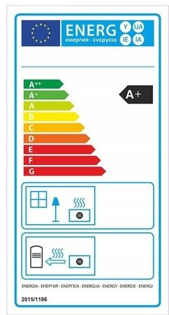 DOSTAWA GRATIS! 99672975 Piec wolnostojący 8kW (kolor: biały) - spełnia anty-smogowy EkoProjekt