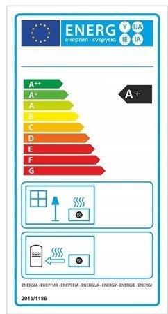 DOSTAWA GRATIS! 99672978 Piec wolnostojący 8kW (kolor: pistacjowy) - spełnia anty-smogowy EkoProjekt