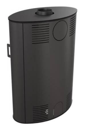 KONS Piec wolnostojący koza 10kW AB S 2 z wylotem spalin fi 150 - spełnia anty-smogowy EkoProjekt 30055019