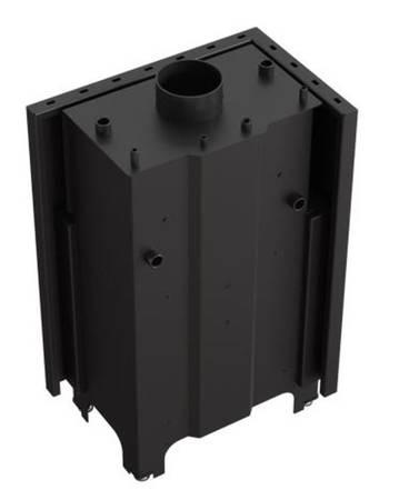 KONS Wkład kominkowy 12kW MBM PW BS z płaszczem wodnym, wężownicą (lewa boczna szyba bez szprosa) - spełnia anty-smogowy EkoProjekt 30066825