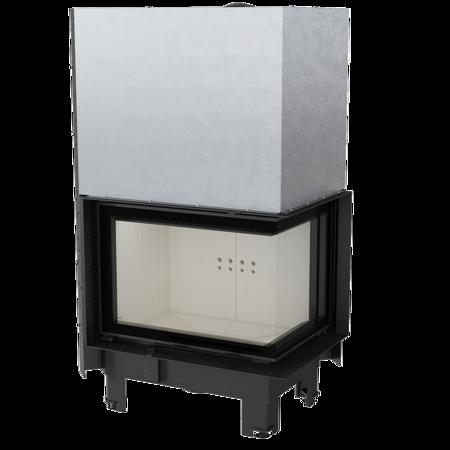 KONS Wkład kominkowy 13kW MBZ 13 BS Gilotyna (prawa boczna szyba bez szprosa, drzwi podnoszone) - spełnia anty-smogowy EkoProjekt 30053246