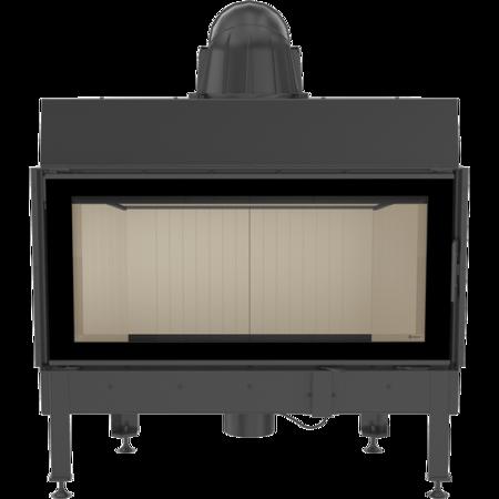 KONS Wkład kominkowy 14kW Nadia (szyba prosta) - spełnia anty-smogowy EkoProjekt 30046759