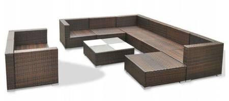 SEDEN Sofa ogrodowa stolik meble ogrodowe rattanowe 22778061