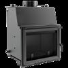 KONS Wkład kominkowy 12kW Zuzia z płaszczem wodnym, wężownicą (szyba prosta) - spełnia anty-smogowy EkoProjekt 30041285